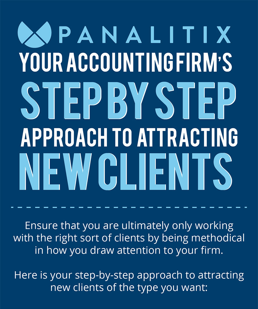 YYour Accounting Firm's Step-By-Step Approach To Attracting New Clients
